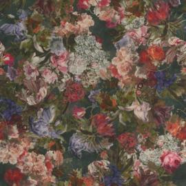 Rasch Passepartout 605662 geschilderde bloemen