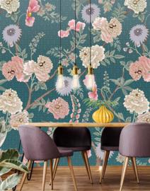 Floral Utopia INK7561 fotobehang afm. 200cm breed x 280cm hoog