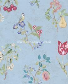 Eijffinger PiP Studio behang 375024 Cherry PiP Lichtblauw