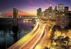 Komar National Geographic fotobehang NYC Lights 8-516