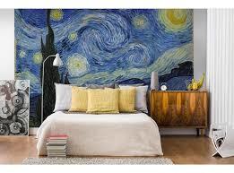 Fotobehang De sterrennacht (Van Gogh)