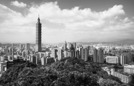 Fotobehang City Love CL93B Taipei