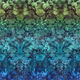 Designers Guild PDG1139/03 Tarbana Damask Cobalt 140cm x 300cm hoog