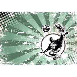 Fotobehang Football Stars: Strike Again