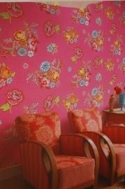 Eijffinger Pip Studio behang  386119 Bunch of Flowers Roze