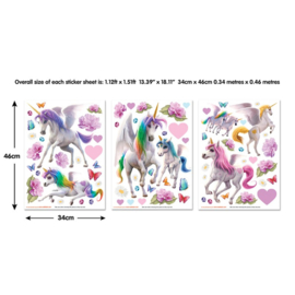 Walltastic muurstickers 45989 Magical Unicorn