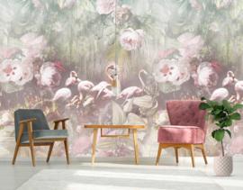 Floral Utopia INK7554 fotobehang afm. 200cm breed x 280cm hoog