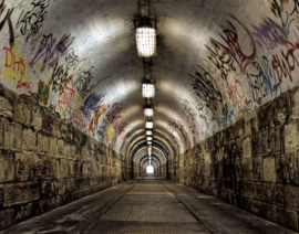 Galerie Wallcoverings Grunge G45281 fotowand Tunnel