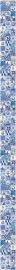 Fotobehang Esta Ginger 158001 tegeltjes Delfts Blauw