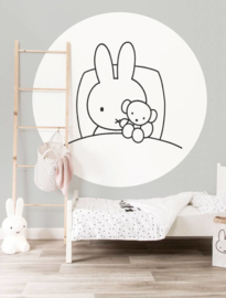 Kek Wonderwalls behangcirkel Miffy sleep CK-031