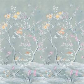 Designers Guild PDG1137/01 Manohari Blossom 140cm x 300cm hoog