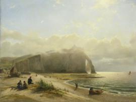 Fotobehang Zeegezicht aan de kust - Willem Anthonie van Deventer