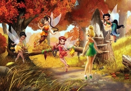 Fotobehang AG Design FTD0251 Disney Fairies