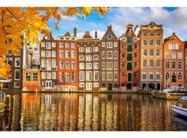 Fotobehang Amsterdam Houses