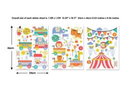 Walltastic muurstickers 44968 Circus