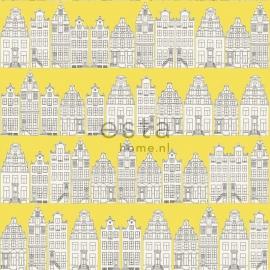 Behang Esta Denim & Co 137712 Amsterdam houses