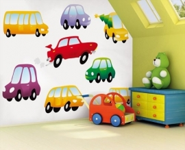 Little Ones fotobehang 418008 Dinky Cars