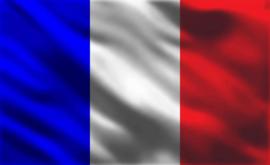 Fotobehang vlag Frankrijk