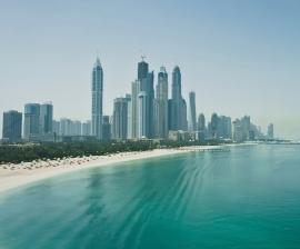 Fotobehang City Love CL90A Dubai