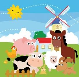 Dutch Digiwalls Fotobehang - Olly art. 13079 Windmill Town
