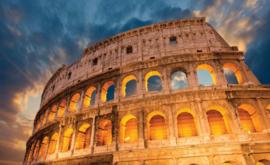 Fotobehang Rome Colosseum