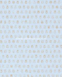 Eijffinger PiP Studio behang 375035 Lichtblauw
