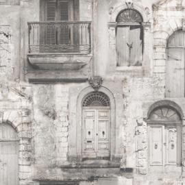 Galerie Global Fusion G56437 muurgevel met frans balkon