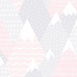 Over the Rainbow 91051 Mountains Pink