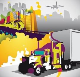 Dutch Digiwalls Fotobehang - Olly art. 13009 Logistics