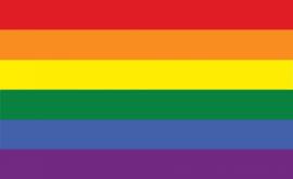 Fotobehang vlag Regenboog