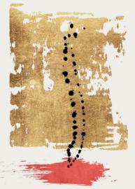 Fotowand Drip drop by Kubistika afm. 200cm x 280cm hoog