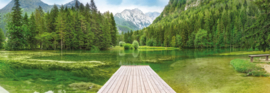 Komar 'National Geographic' fotobehang 4-538 Green Lake