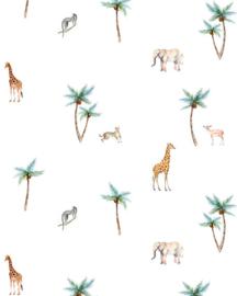 Creative Lab Wallpaper on roll Savannah Palmtree