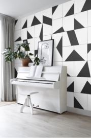 Esta Black&White 158908 photowall XL White tiles