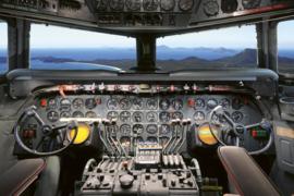Fotobehang Cockpit