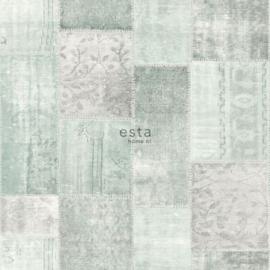 Esta Boho Chic 148650 ibiza marrakech kelim patchwork tapijt