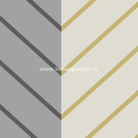 Eijffinger Stripes+ 377143 diagonale streep