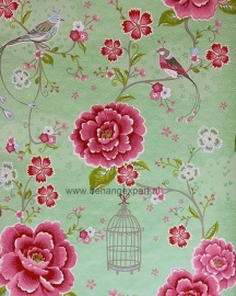 Eijffinger Pip Studio behang 313013 Birds in Paradise Groen