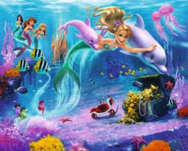 Walltastic posterbehang 41813 Mermaids