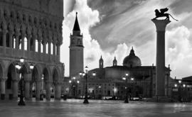 Fotobehang Venetië San Marco Plein