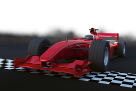 Fotobehang Formule 1 race auto