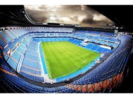Fotobehang Voetbal Stadion