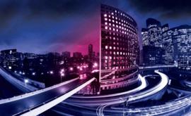 Fotobehang City Skyline