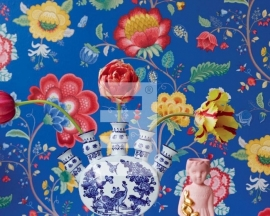 Eijffinger Pip Studio behang 341034 Floral Fantasy Blue