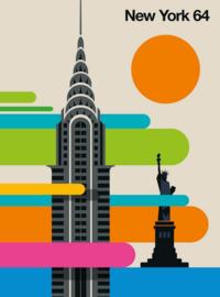 Fotowand New York 64 by Bo Lundberg afm. 200cm x 270cm hoog