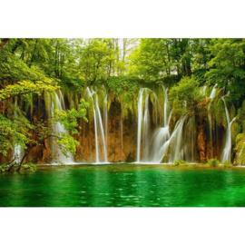 Fotobehang Green Waters