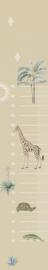 Sofie & Junar INGK7686 safari sands groeimeter afmeting 50cm x 280cm hoog
