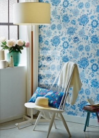 Eijffinger Pip Studio behang 341012 Folklore Chintz Light Blue
