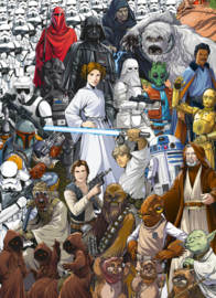 Komar fotobehang 4-4111 Star Wars Classic Cartoon Collage