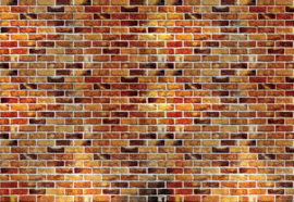 Fotobehang Brick Wall